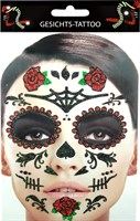 Sticker gezicht Day of the Dead