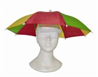 Umbrella Hat red/yellow/green