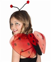Set Ladybug (wings & hair circlet)