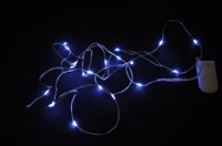 "Licht ketting wit 20 LED lampjes ""incl. batterijen"""