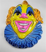 Wall decoration clown head 63 x 46 cm