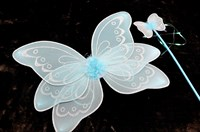Fairy wing set turquoise child