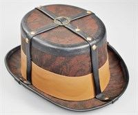 Top Hat Steampunk brown