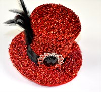 Top Hat mini red
