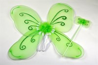 Wings green (2-pcs)