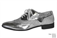 Shoes silver luxury size 40