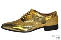 Shoes gold luxury