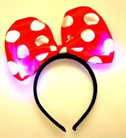 Hair circlet mouse (incl. batteries)