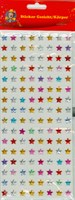 Sticker stars colorful 8mm