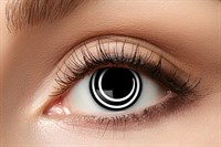Contact Lenses black Spiral 1 week