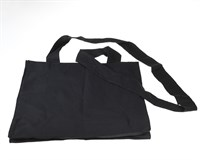 Throw bag black Deluxe