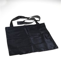 Throw bag black 40x40x15cm