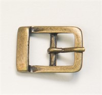 Small gold buckle 2,5cm wide