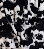 Fur cow 150 cm wide  per meter