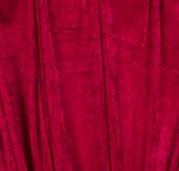 Velvet red 150cm wide