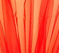 Tüll neon orange 150cm breit