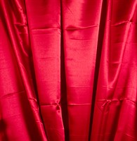 Satin red 150 cm wide
