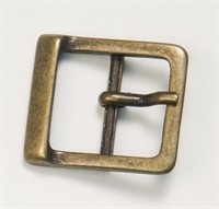 Buckle, gold (medium) (W. 3cm)