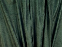 Leather-look, old finish, dark green, 150 cm wide