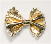 Bow tie gold small (5cm w.)