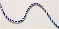 Club cord blue/white  per meter