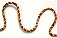 Club cord red/yellow/green  per meter
