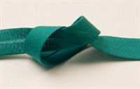 Bias binding dark green cotton 15mm wide