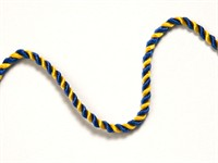 Club cord yellow/blue