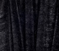 Black with hair 150cm wide