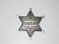 Sheriff-star silver