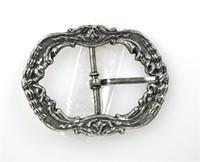 Buckle silver old silver
