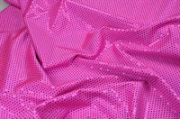 Pailletten Stretch pink 150cm breit