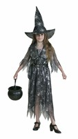 Spider web dress Halloween (dress/belt) (velvet)