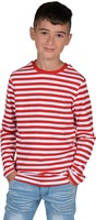 Red/white striped jumper luxery (child)