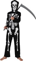 Skeleton costume  with cap