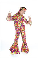 Flower Power (Boy) Hose,Bluse,Stirnband