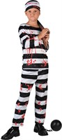 Prisoner blood Halloween (trouser/blouse/cap)