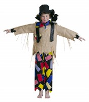 Scarecrow (top/trousers/hat/scarf)