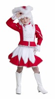 Majorette red/white