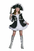 Female pirate Bora 2pcs  dress,headband