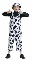 trouser of fun cow black/white