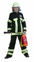 fire fighter black (top, trouser)