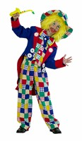 Clown Harry 4-tlg (Bluse, Weste, Jacke, Hose)