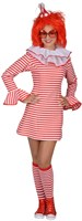 Dress stripes red / white