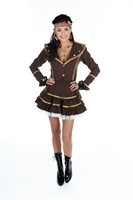Steampunk (jacket,skirt )