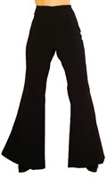Trouser of the 70`ies black(woman)