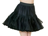 Petticoat Cindy black