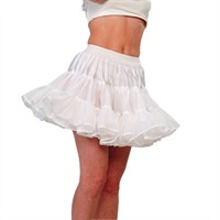 Petticoat Cindy white