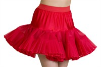 Petticoat Cindy red