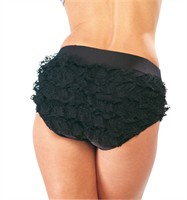Frilly knickers black